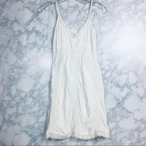 Aerie Embroidery Dress